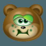 Teddy Bear Sick