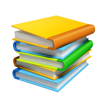 Books 3D PNG Icons  [512x512]