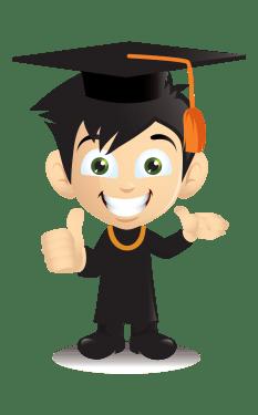 graduation Characters