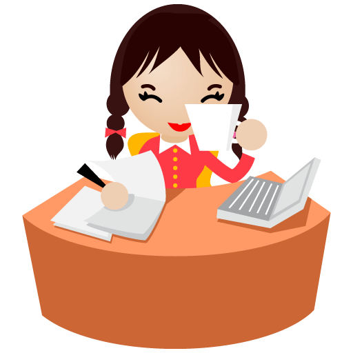 Office Women Icon Set [PNG   512x512]