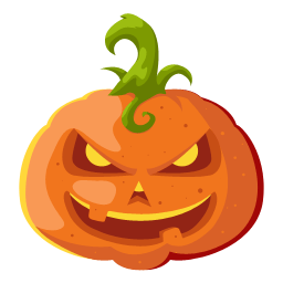 Halloween Head Icons [PNG   256x256] png