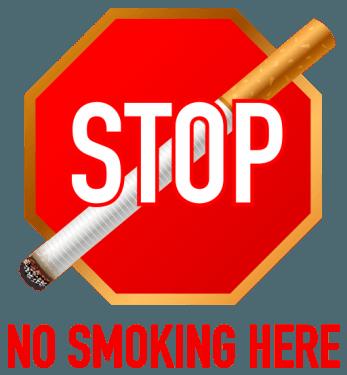 stop smoking symbol 347x375 vector