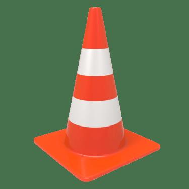 traffic cone 1 375x375 vector