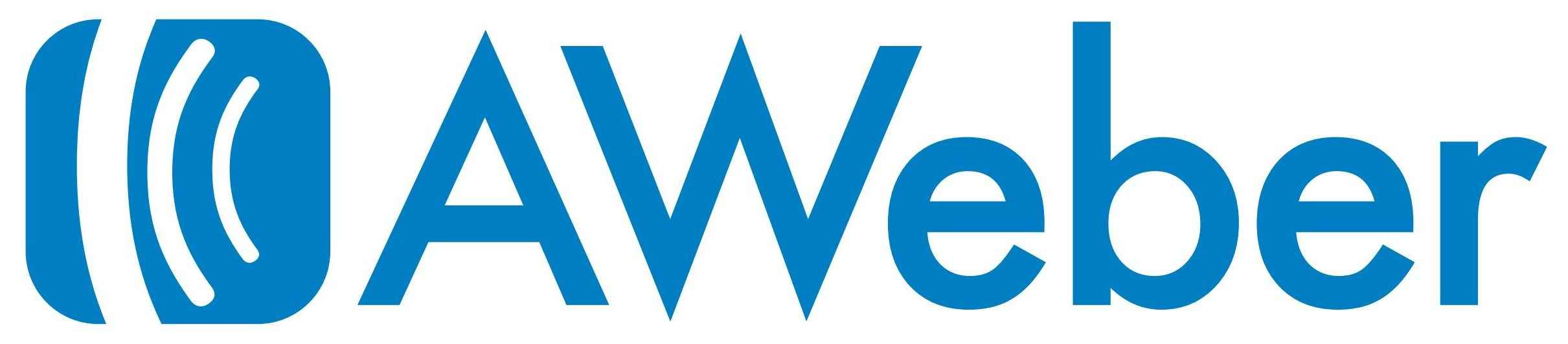 Image result for AWEBER LOGO