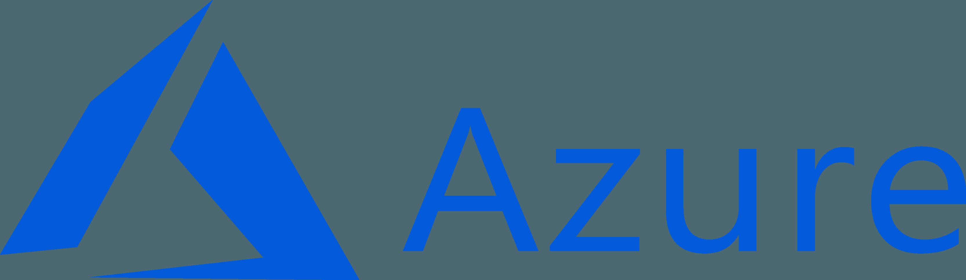 Microsoft Azure Logo [Windows] png