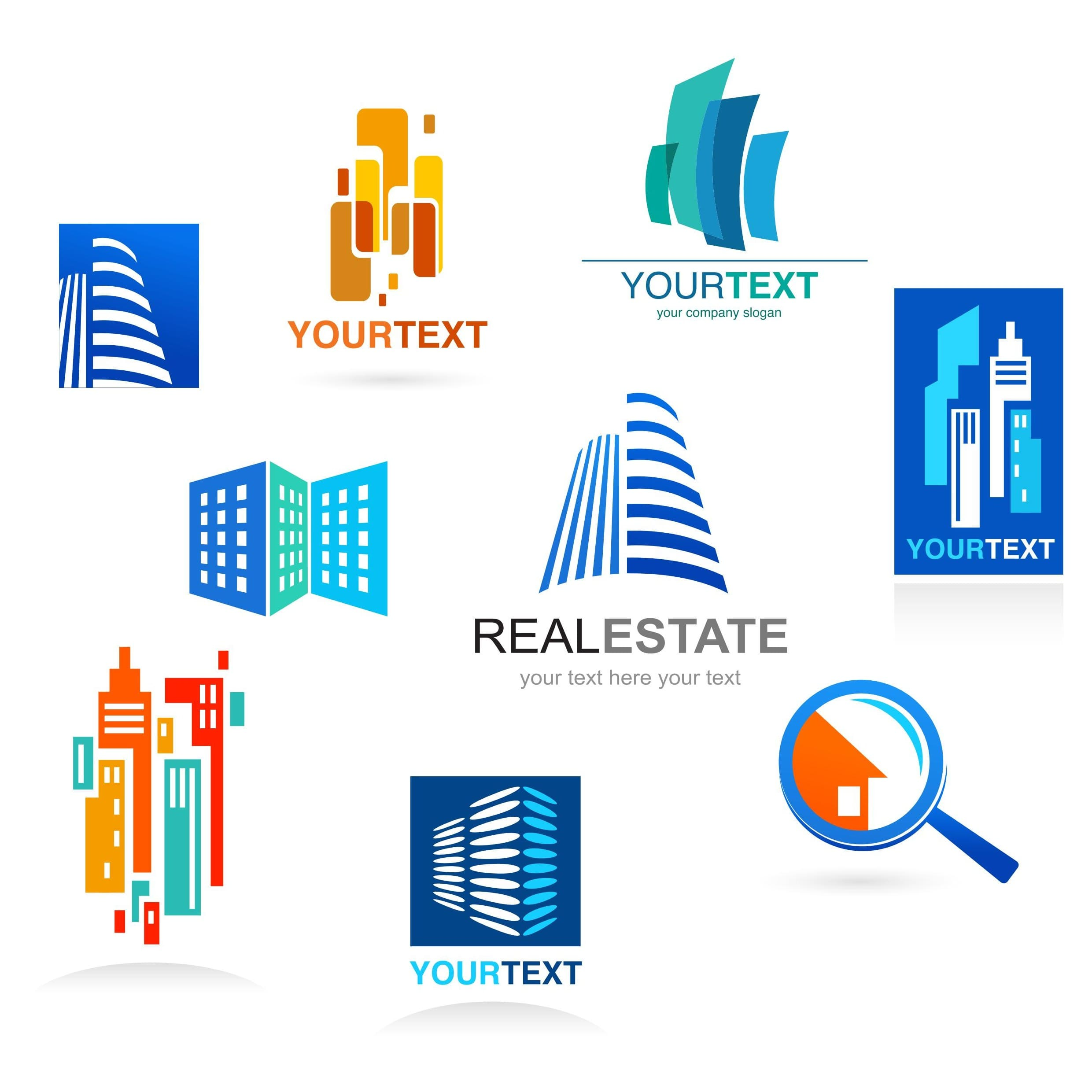Real Estate Logo Template 04 [EPS PDF] png