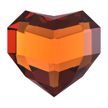 Heart Shaped Precious Stones [PNG] png