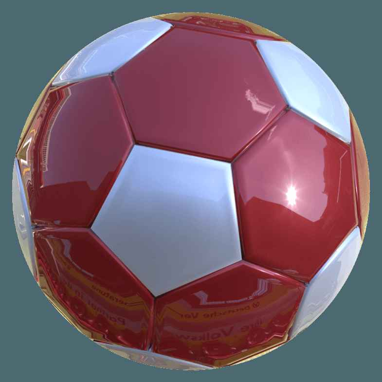 3D Soccer Ball [PNG   1024x1024] png
