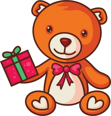 Free Vector Teddy Bears Set [PNG] png