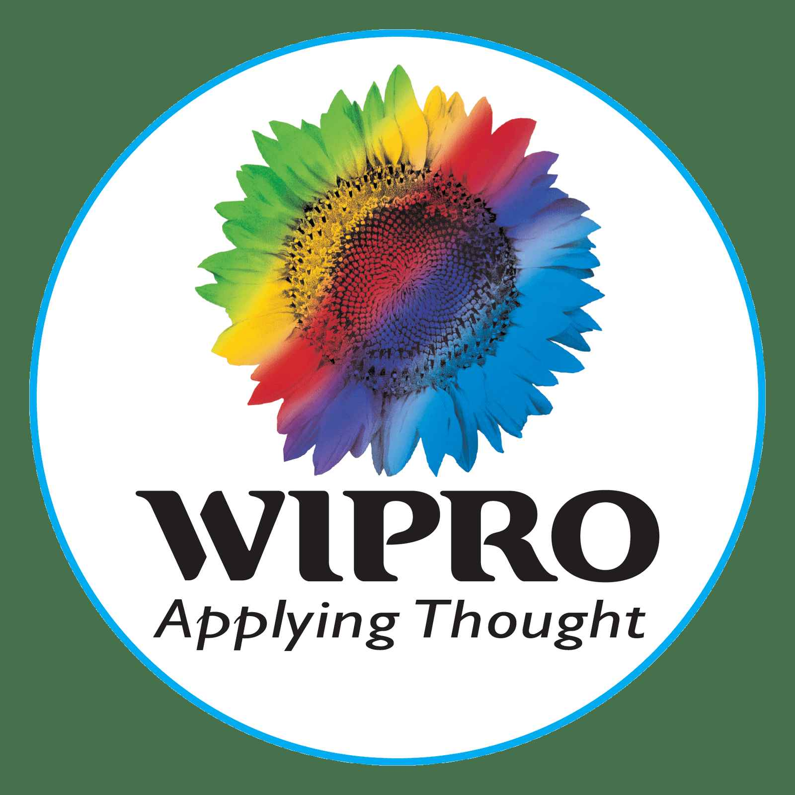 Wipro Logo Vector Icon Template Clipart Free Download