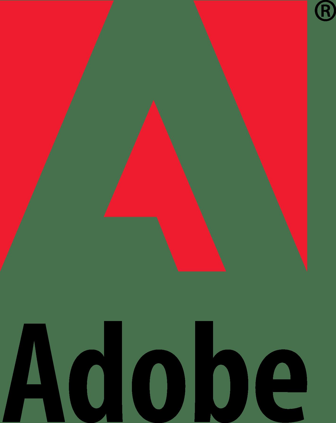 Adobe Logo Png Svg Logo Vector Template Free Downloads