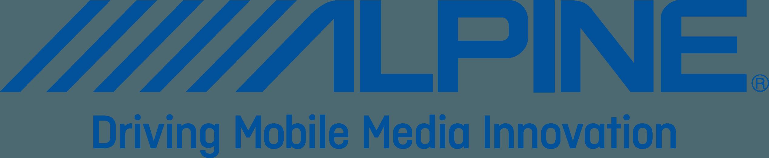 Alpine Logo   Electronics