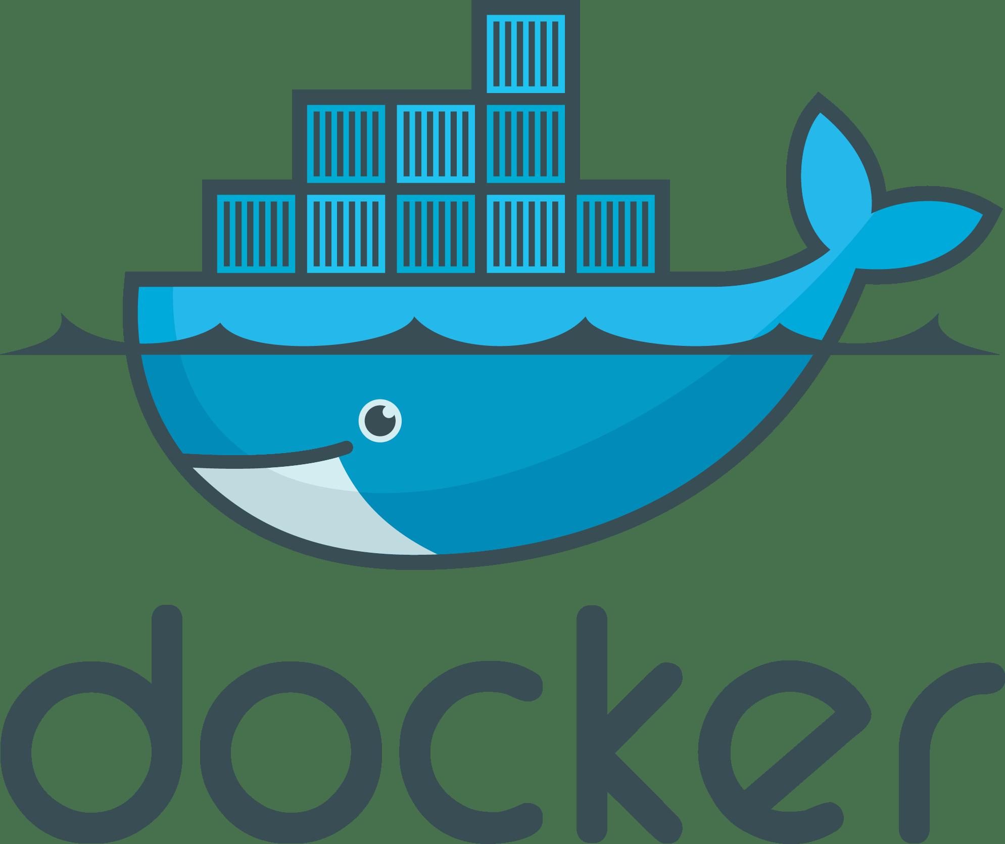 Docker Logo [Software   PDF] png