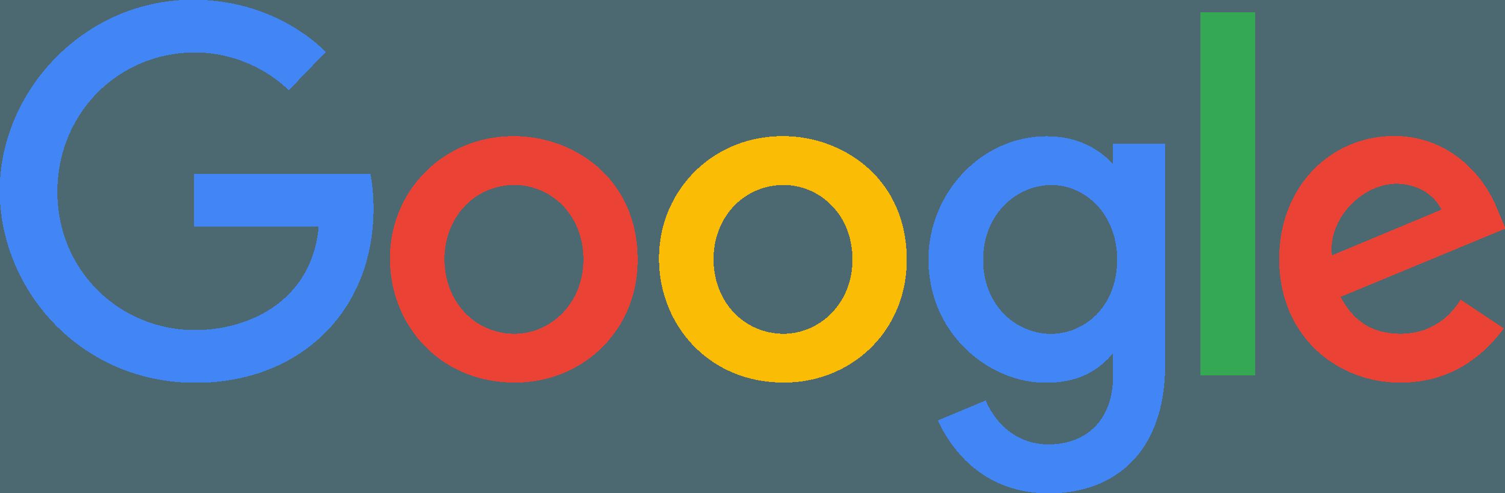 Google Logo [New Logo 2015   PDF] png