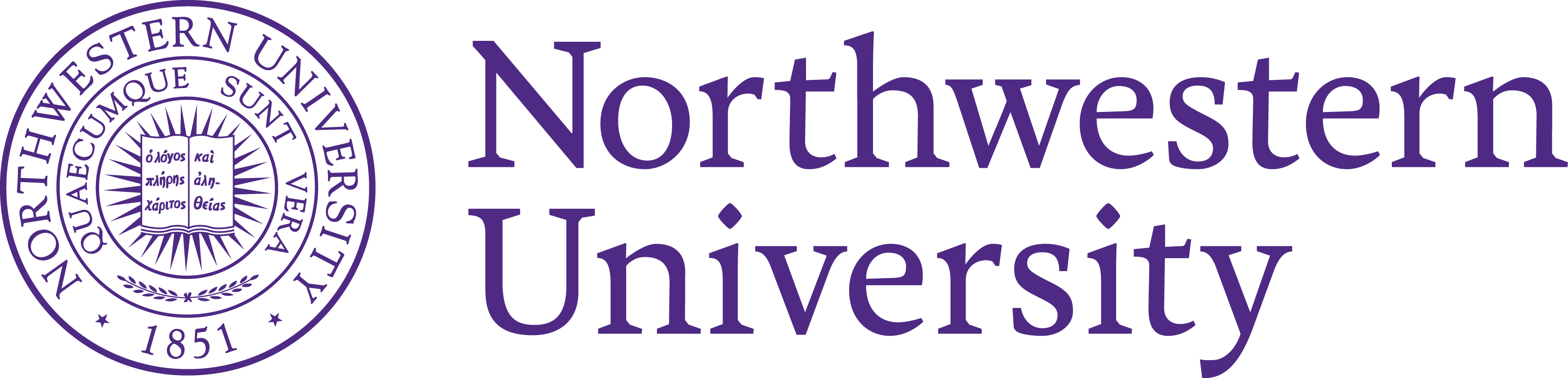 Northwestern University Logo and Seal png