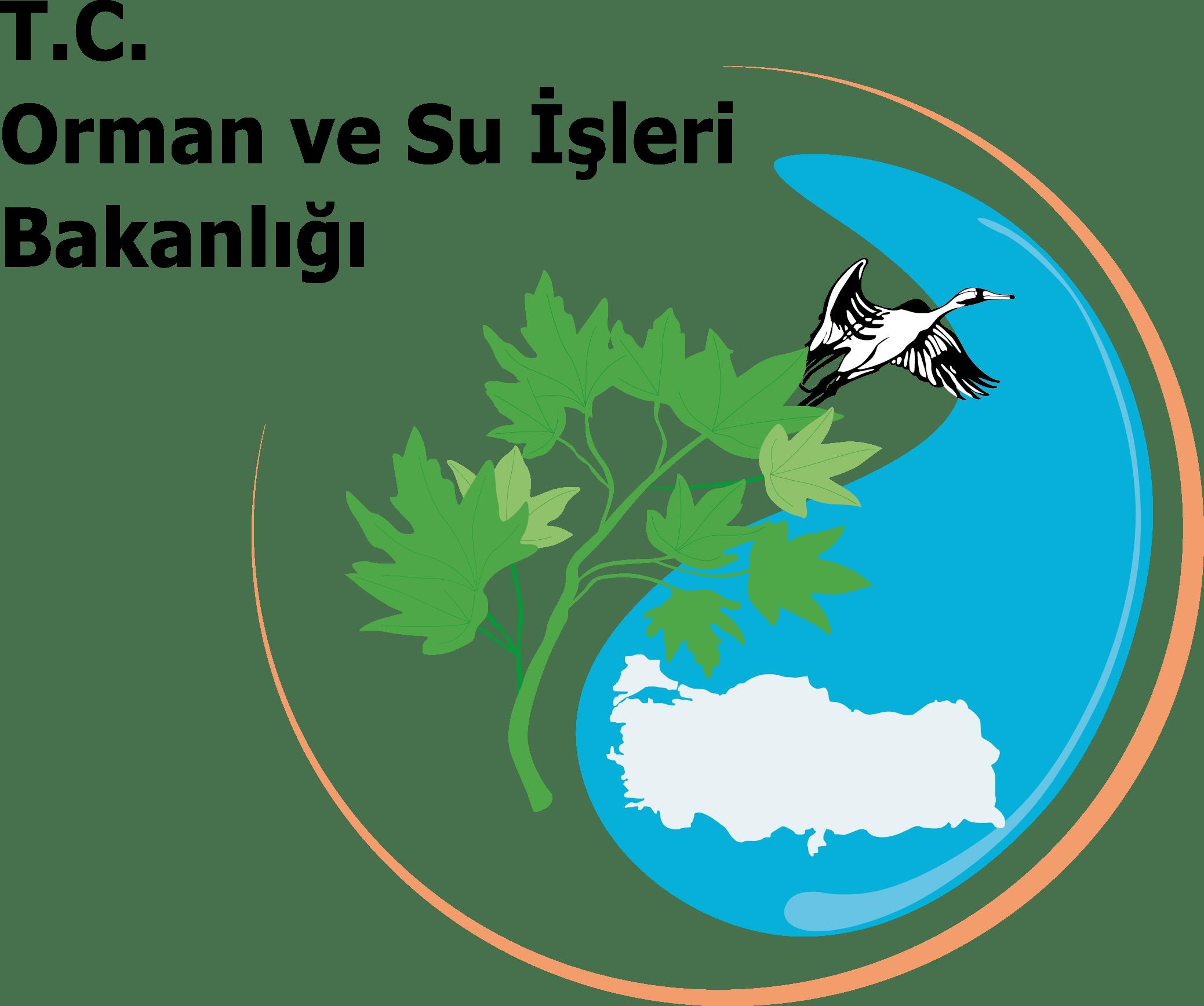T.C. Orman ve Su İşleri Bakanlığı Logosu [ormansu.gov.tr] png