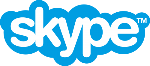 skype logo 500x220