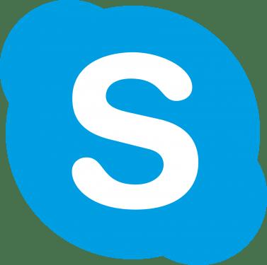 skype logo 377x375
