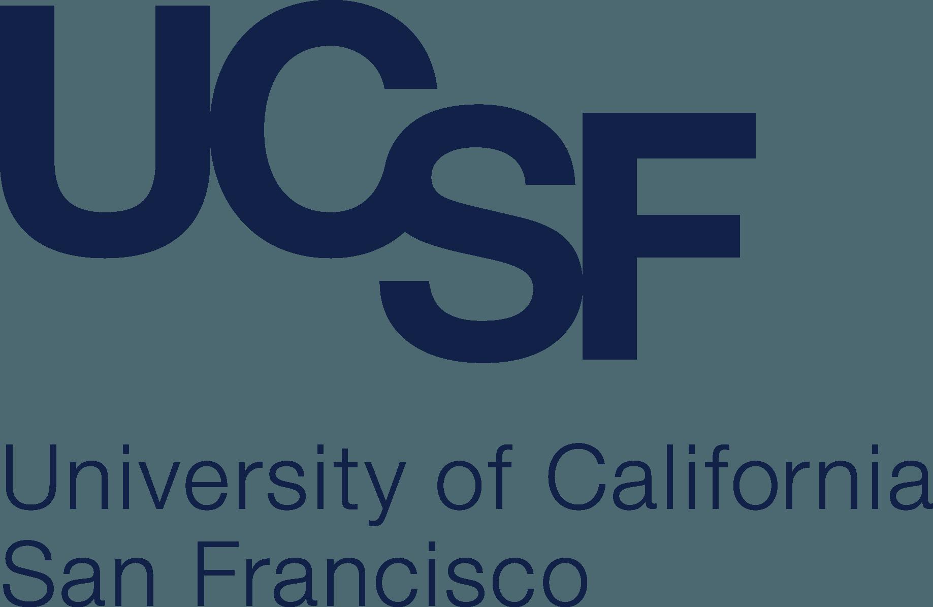 UCSF Logo   University of California, San Francisco png