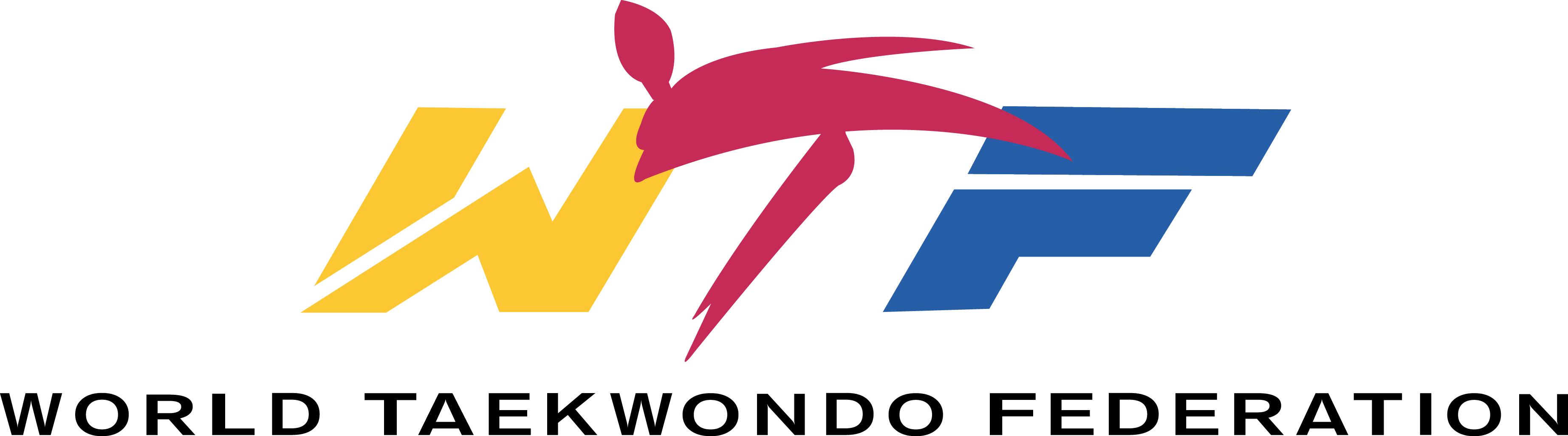 wtf World Taekwondo Federation Logo