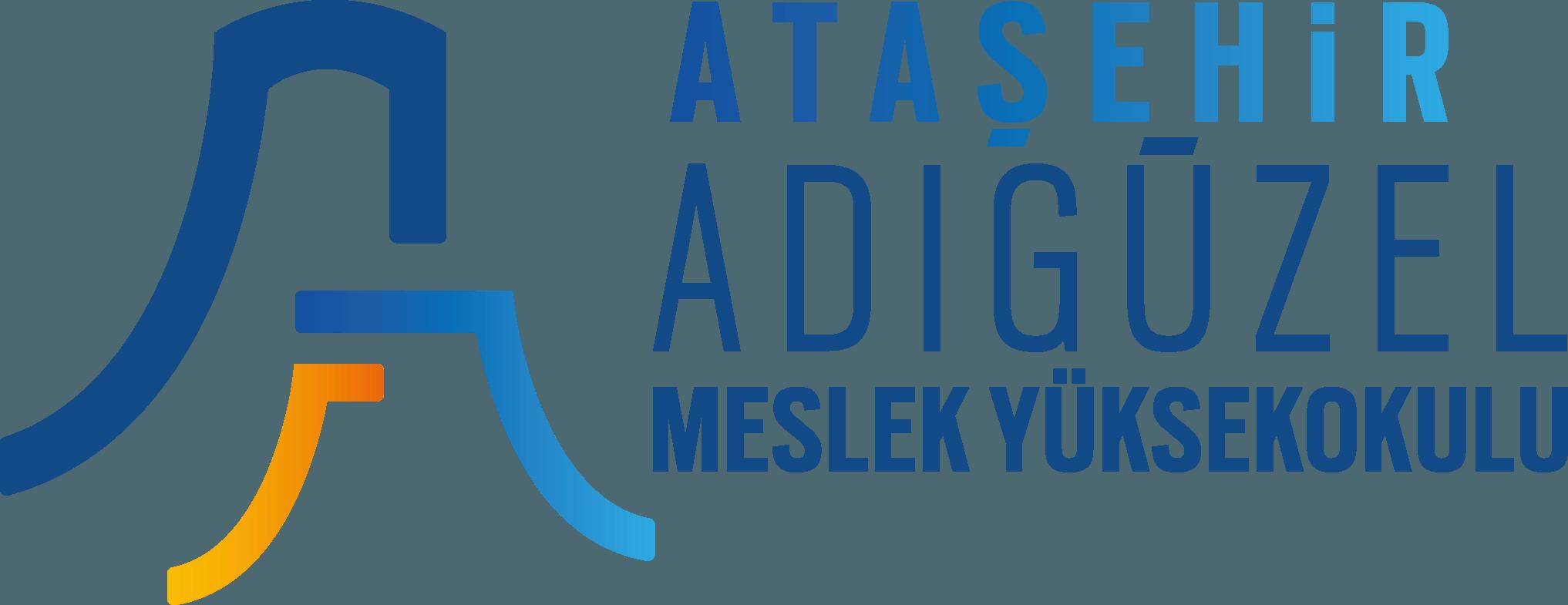 Ataşehir Adıgüzel Meslek Yüksekokulu Logo   Amblem png