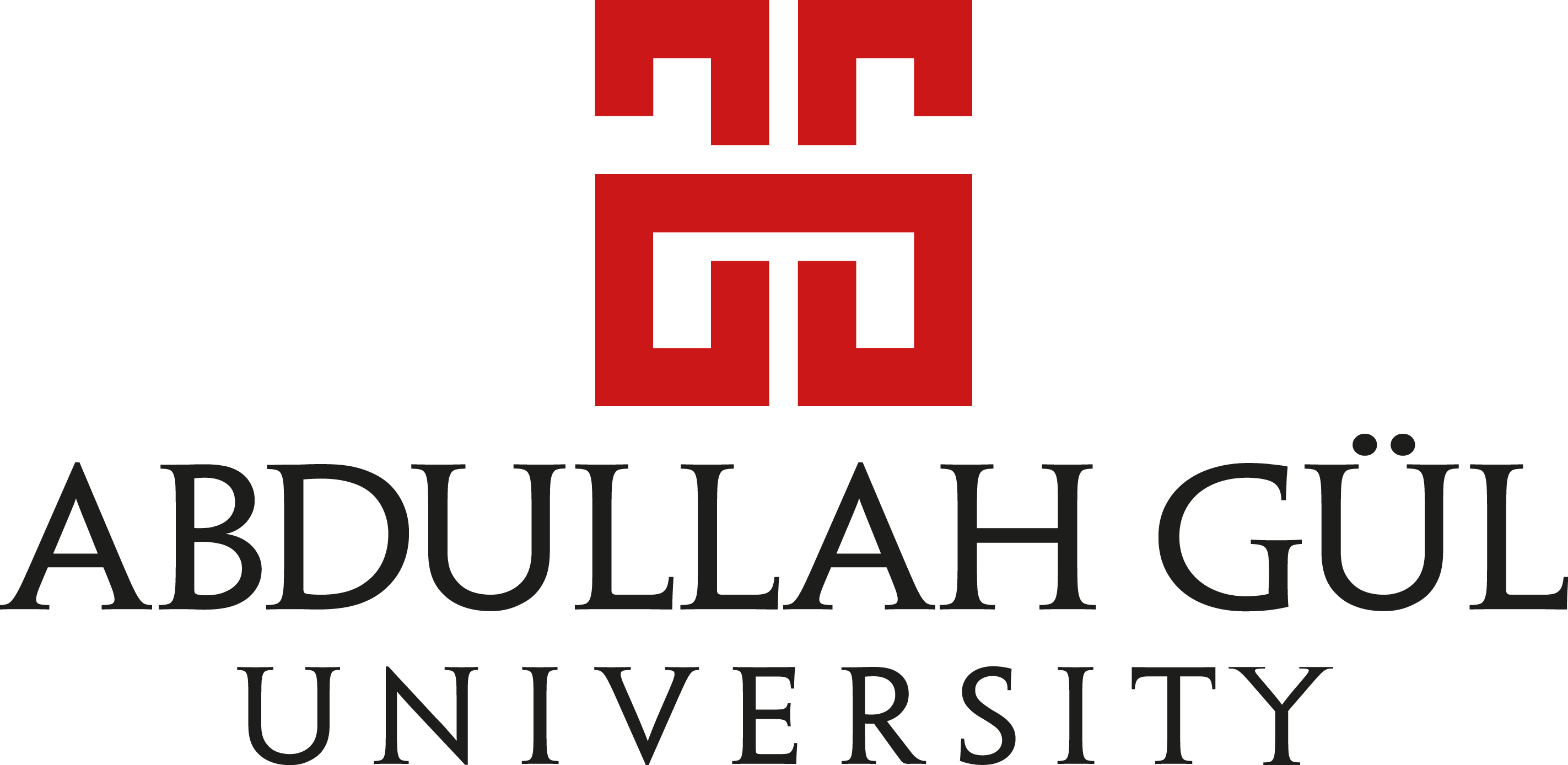 abdullah gul university logo vector