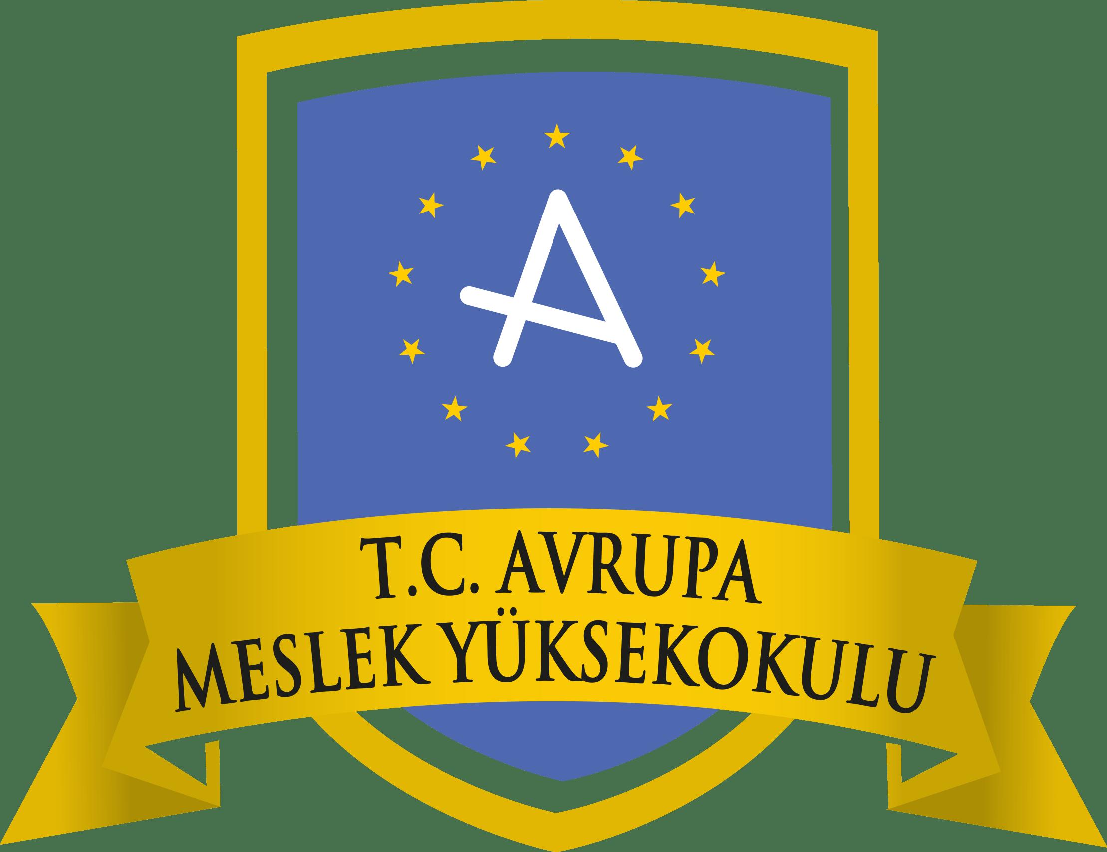 Avrupa Meslek Yüksekokulu Logo   Amblem png