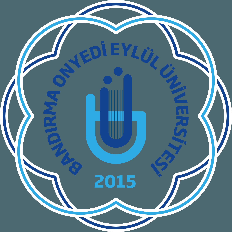 Bandırma Onyedi Eylül Üniversitesi Logo   Amblem png