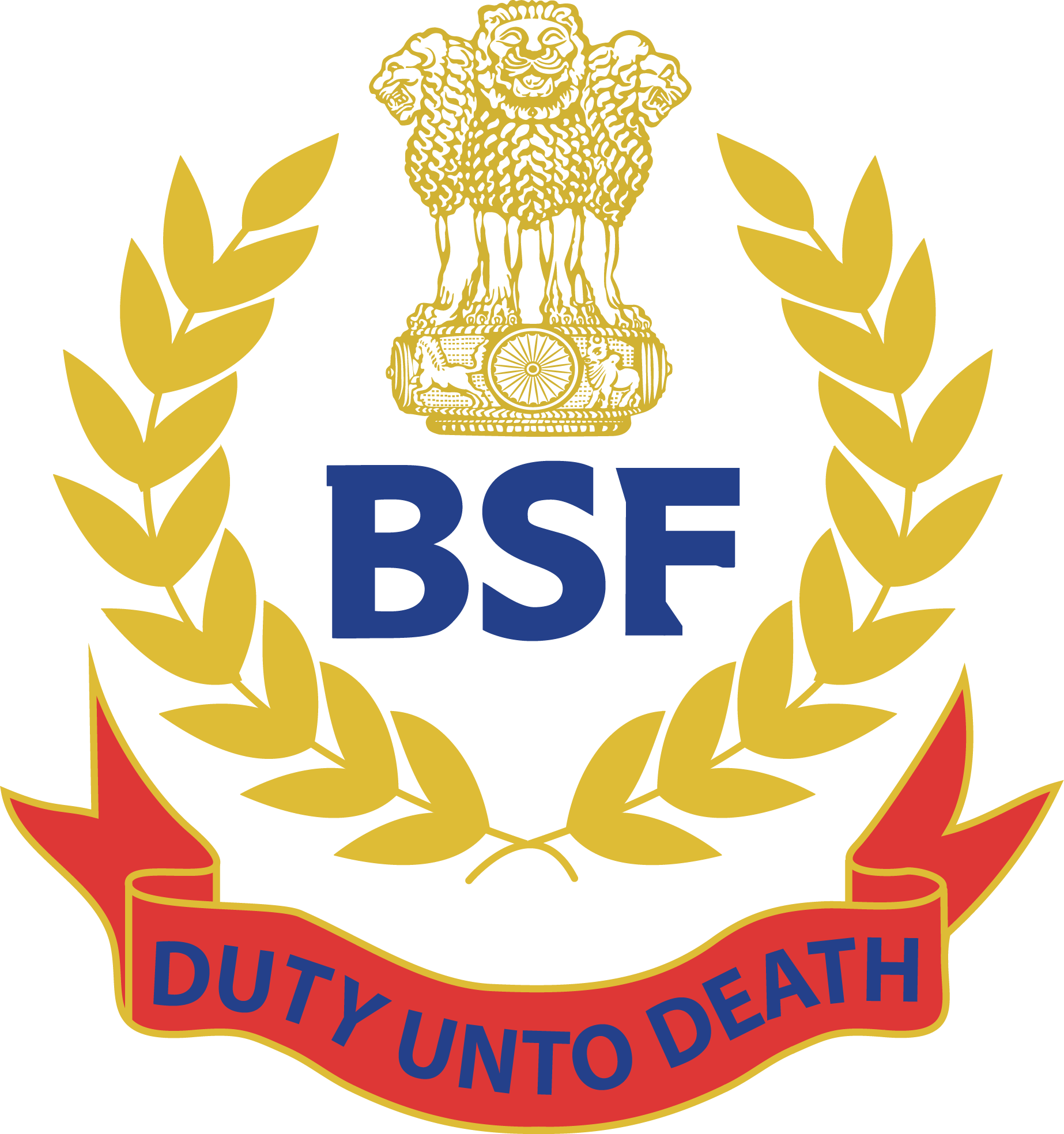bsf logo border security force vector eps free download logo rh freelogovectors net free crest vector downloads crest logo vector free download