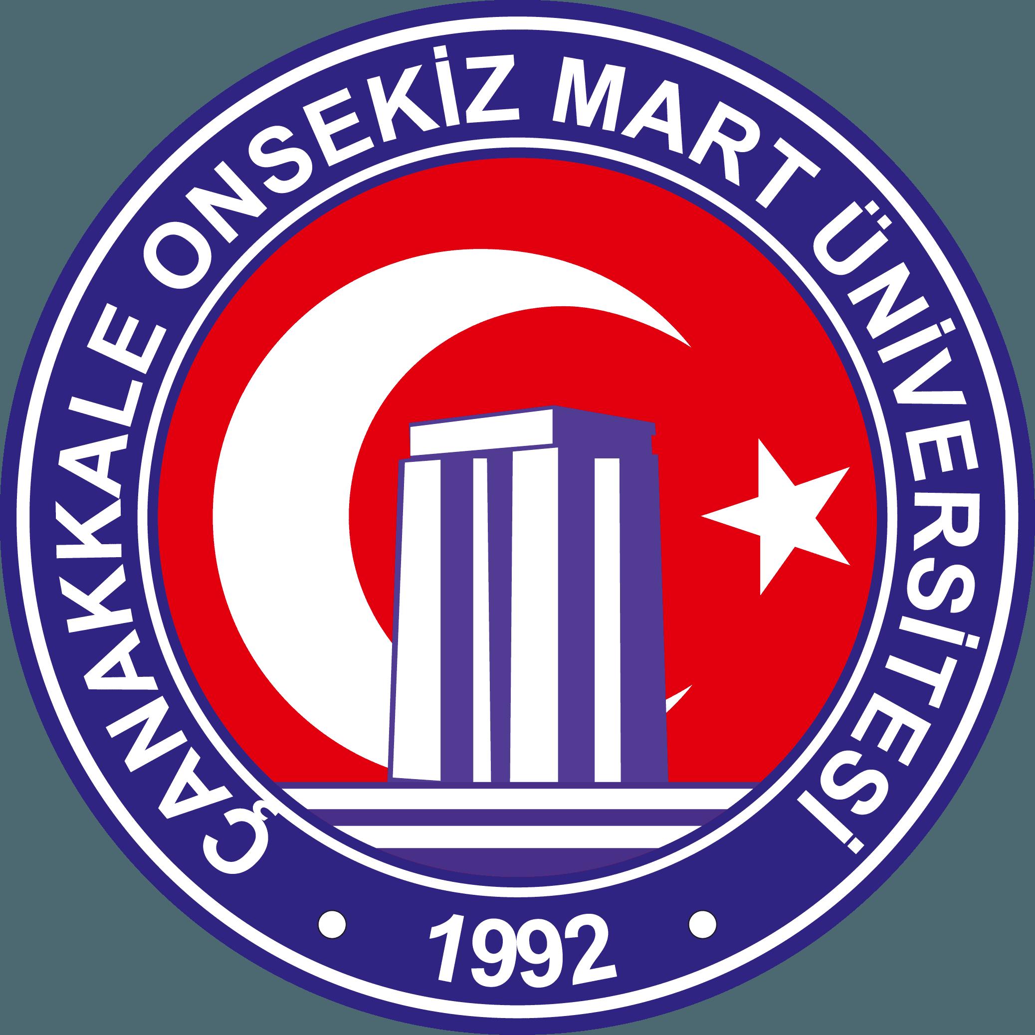 Çanakkale Onsekiz Mart Üniversitesi Logo   ÇOMÜ Arma png