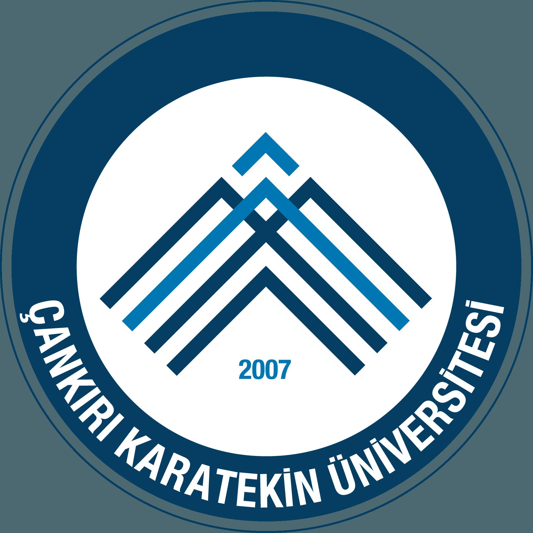 Çankırı Karatekin Üniversitesi Logo   Arma png