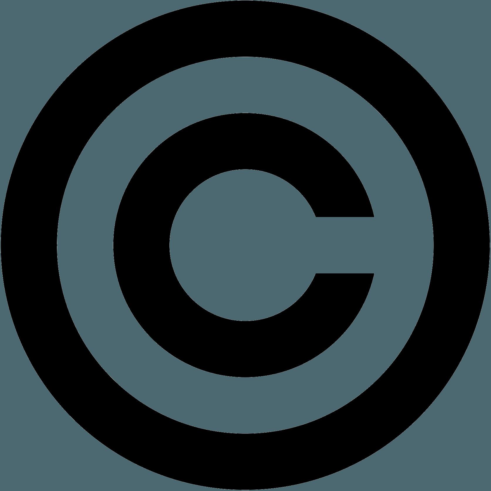 Copyright Logo Symbol png