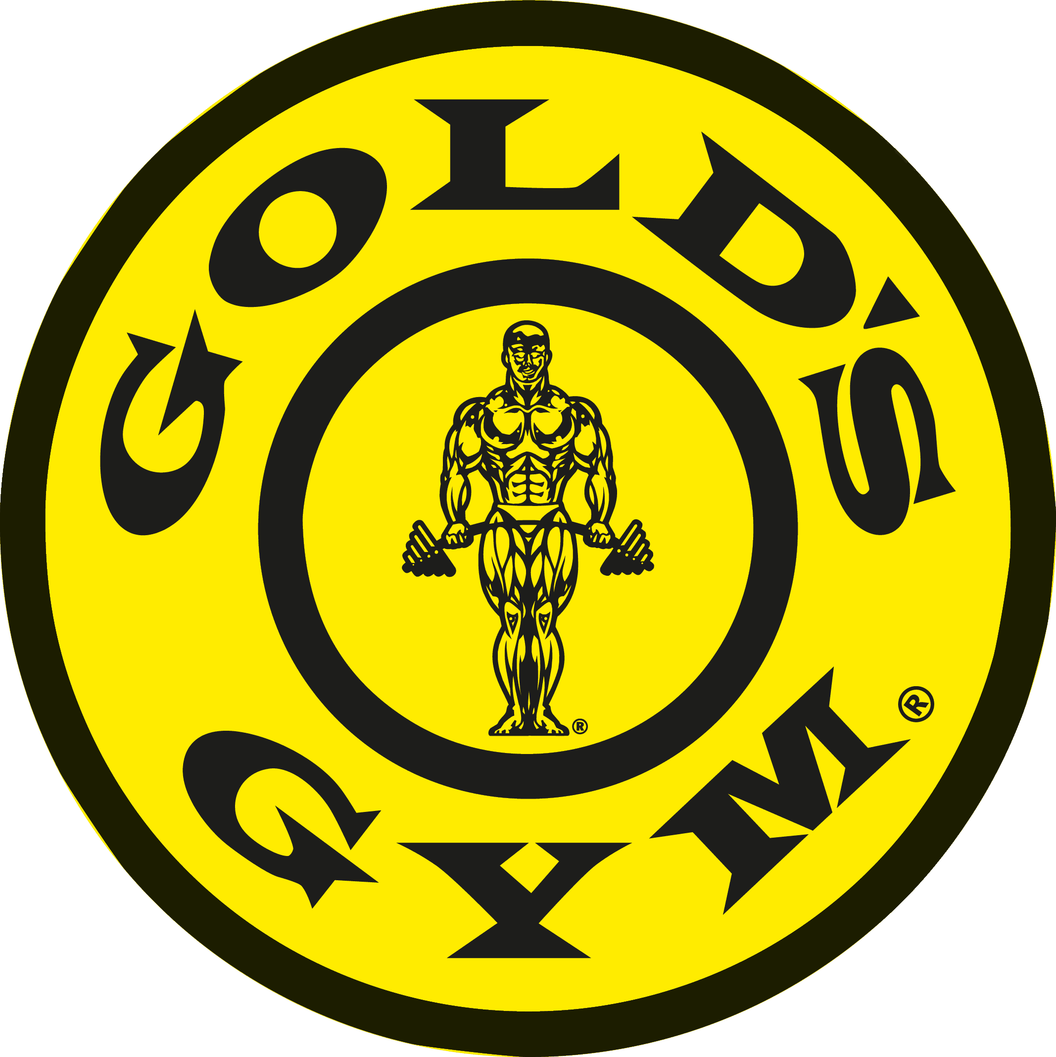 Golds Gym Logo png