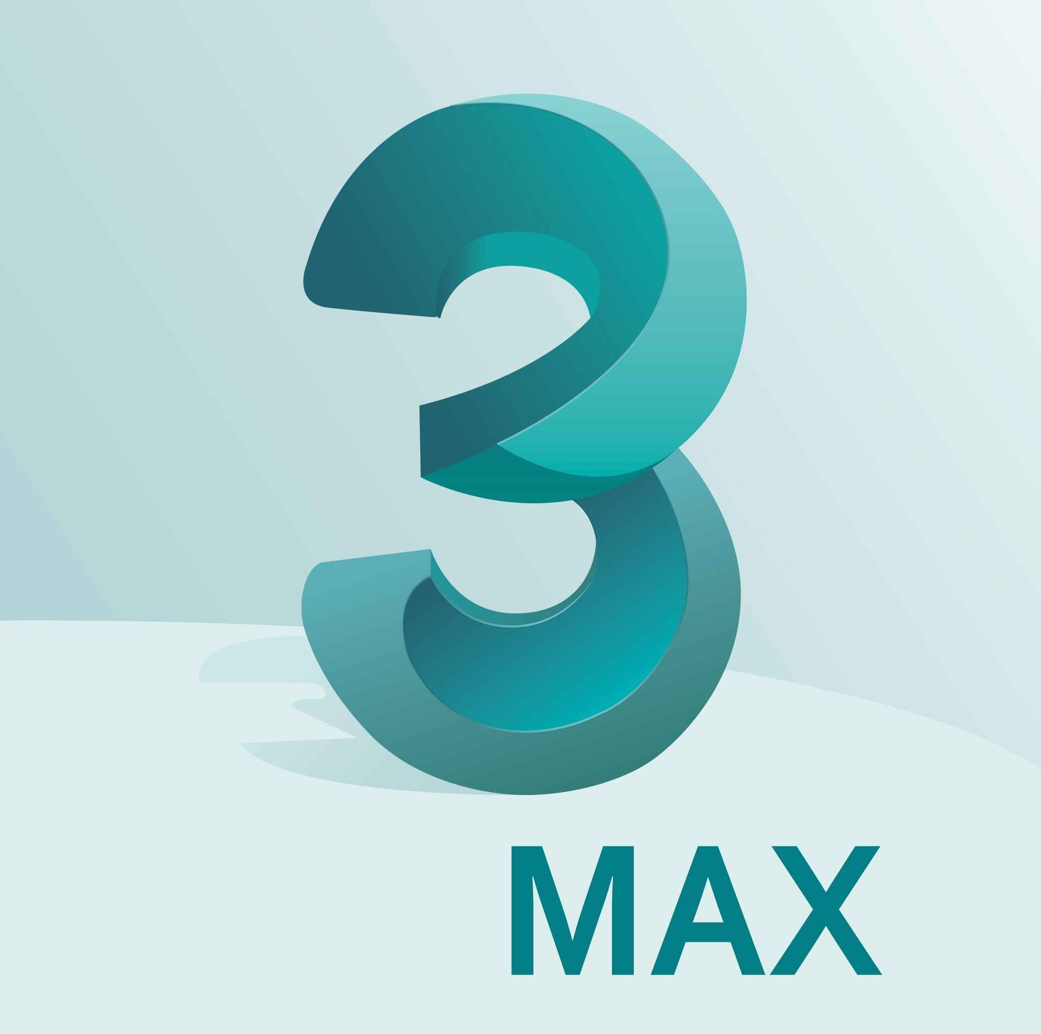 3DS Max Logo (Autodesk) png