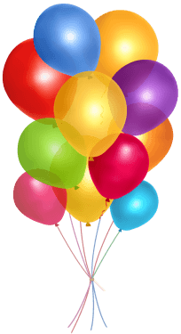 Balloons PNG (9 Image) png