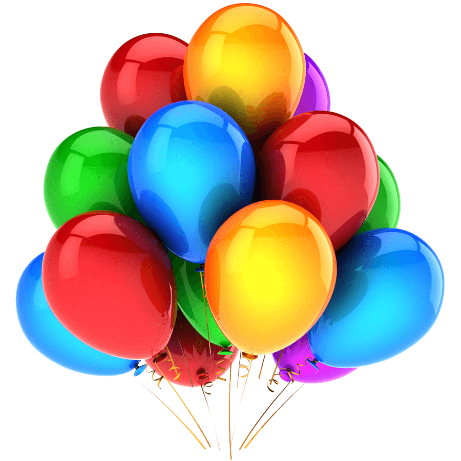 Balloons PNG (9 Image)