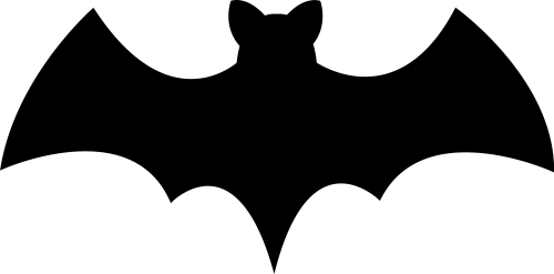 Bat png picture 12 500x247 vector