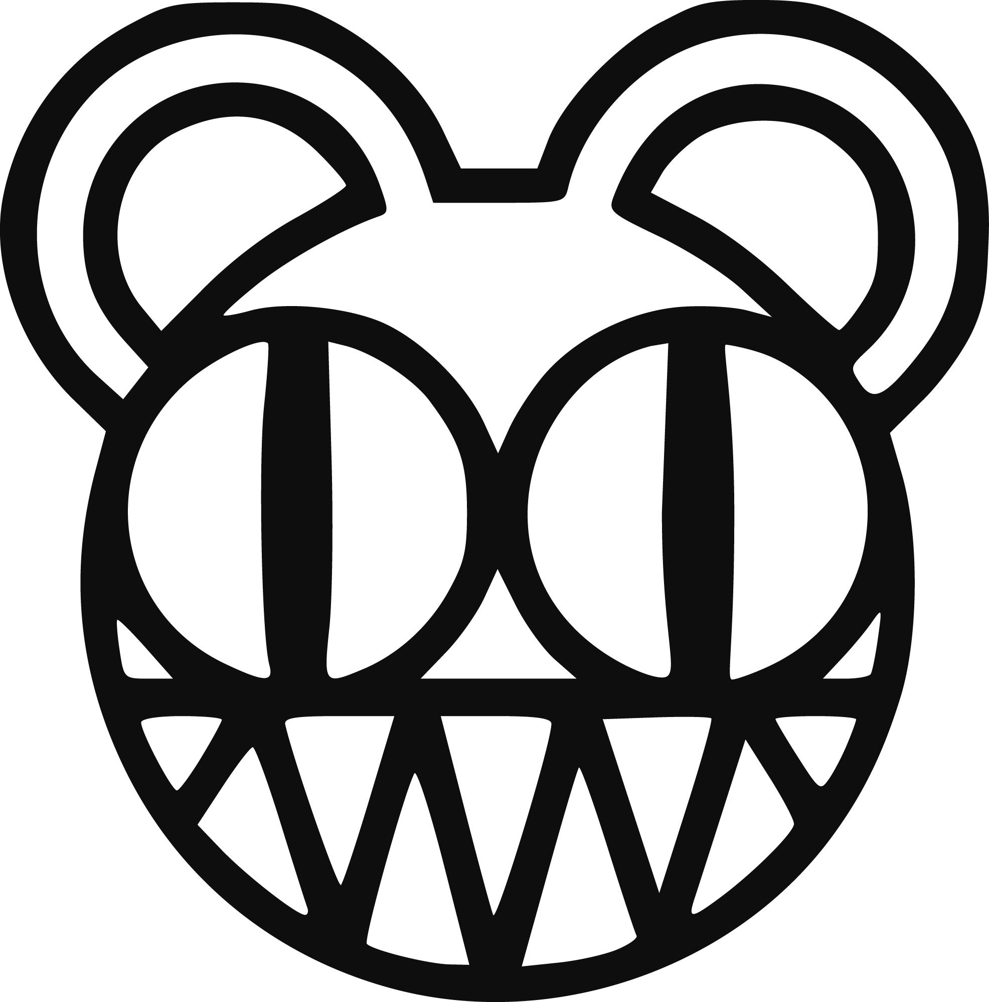 Radiohead Logo png