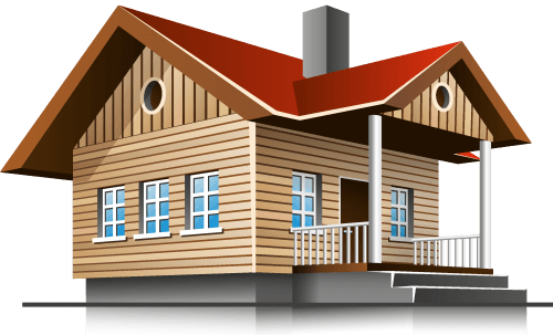 3D House PNG Images png
