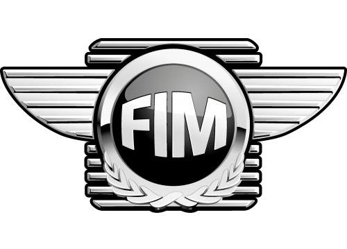 FIM Federation Internationale de Motocyclisme logo 500x359