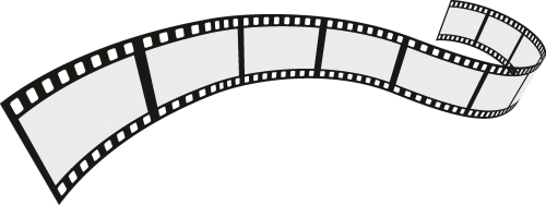 Film Strip 4 Roll Set Vector