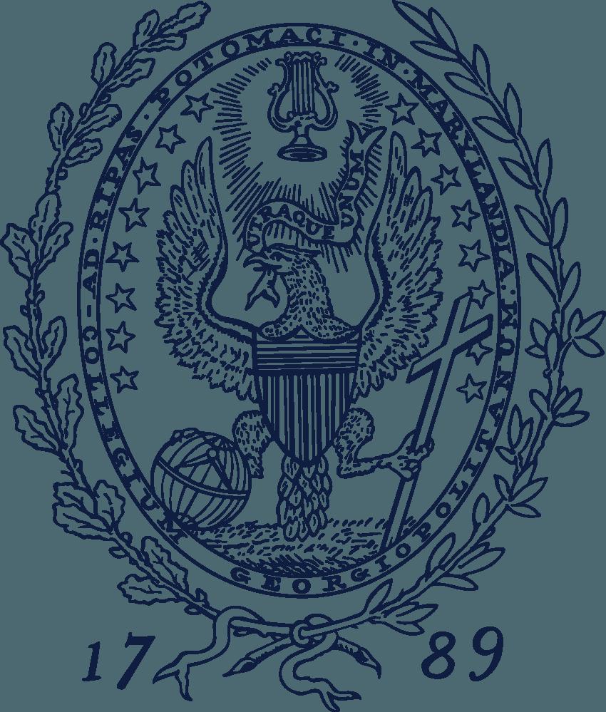 Georgetown University Logo png