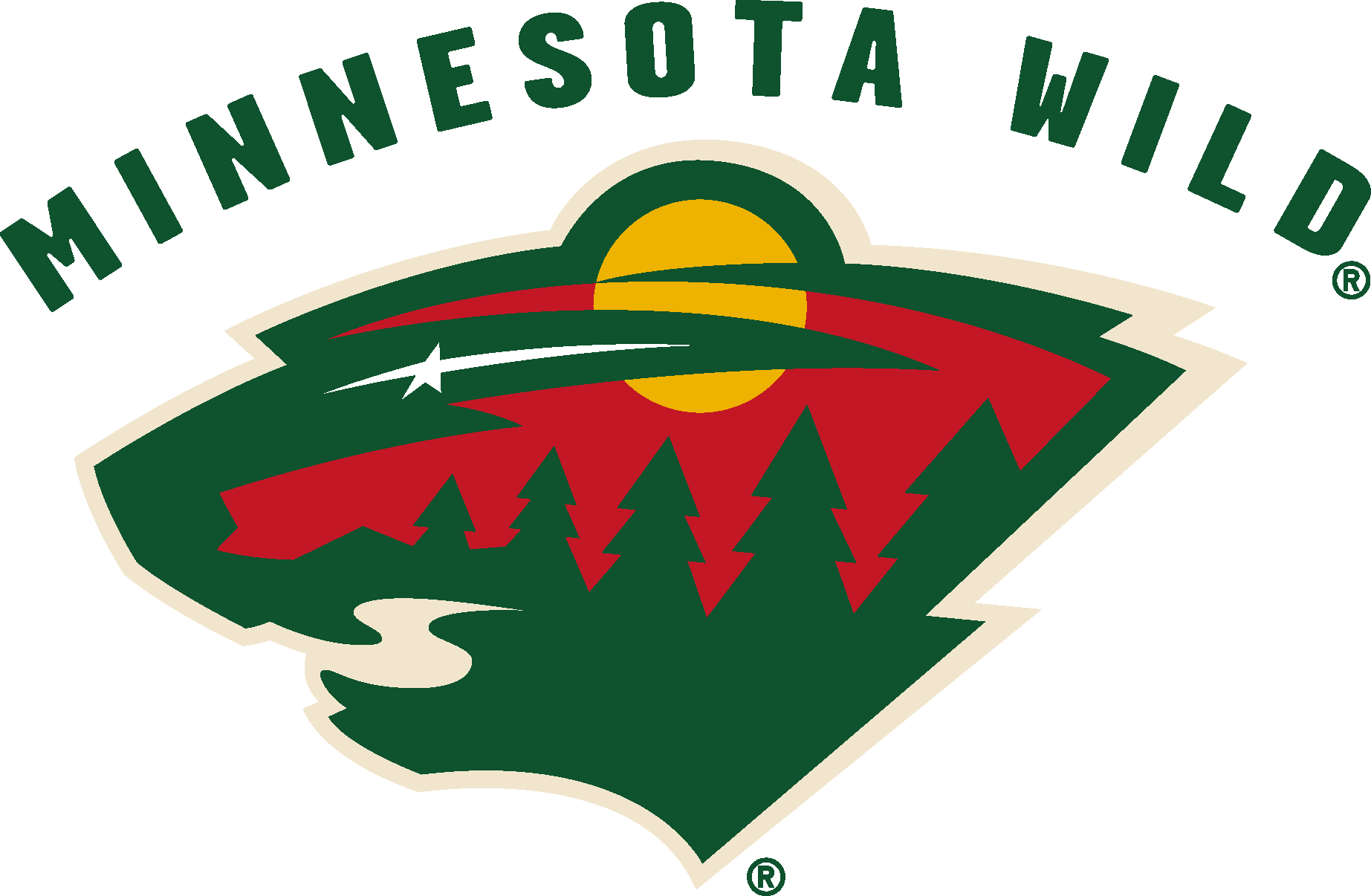 Minnesota Wild Logo [EPS   NHL] png
