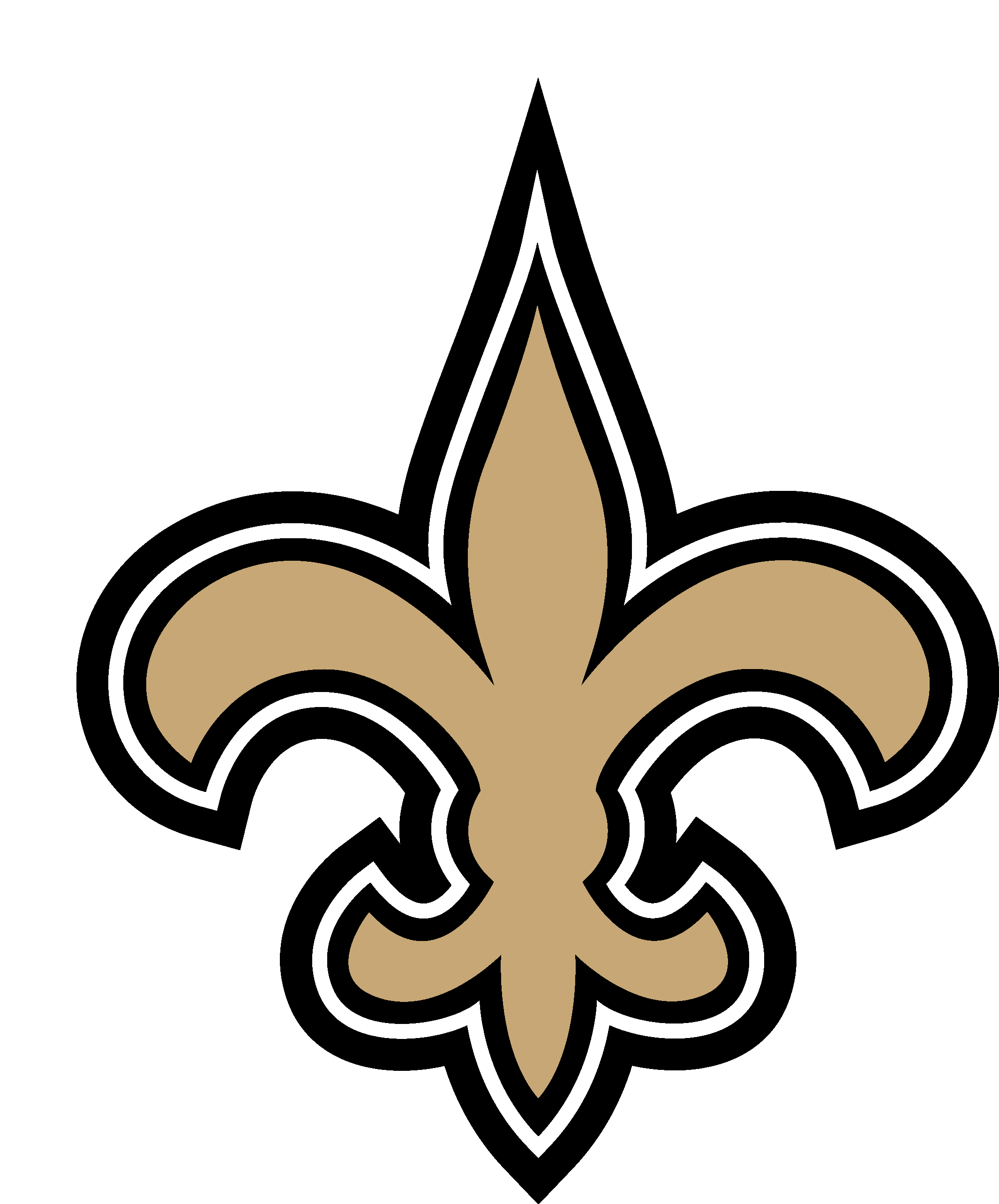 new orleans saints logo vector eps free download logo icons clipart rh freelogovectors net new orleans saints football clipart animated new orleans saints clipart