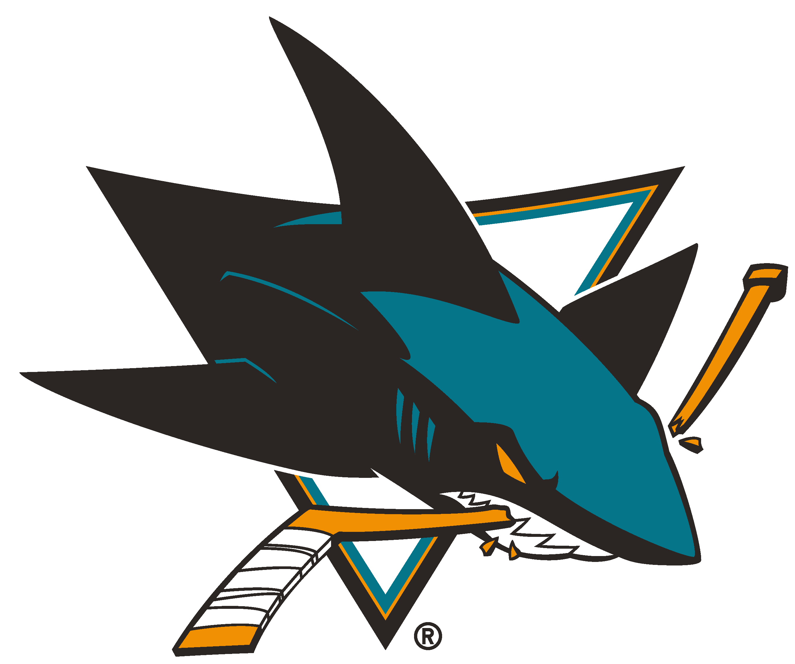 San Jose Sharks Logo [EPS   NHL] png