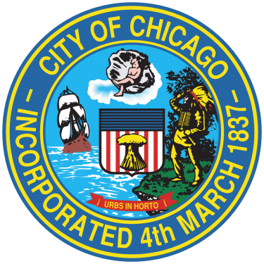 Chicago City Flag and Seal png