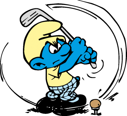 The Smurfs Characters Vector png
