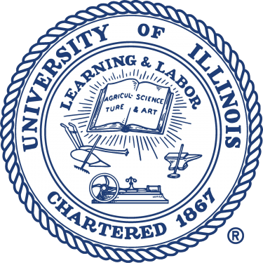 UIUC Logo and Seal [University of Illinois at Urbana Champaign   illinois.edu] png