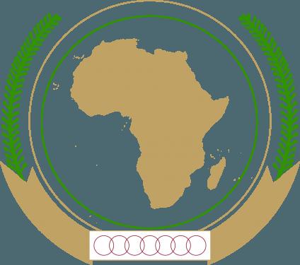 AU   African Union Flag&Arm&Emblem png