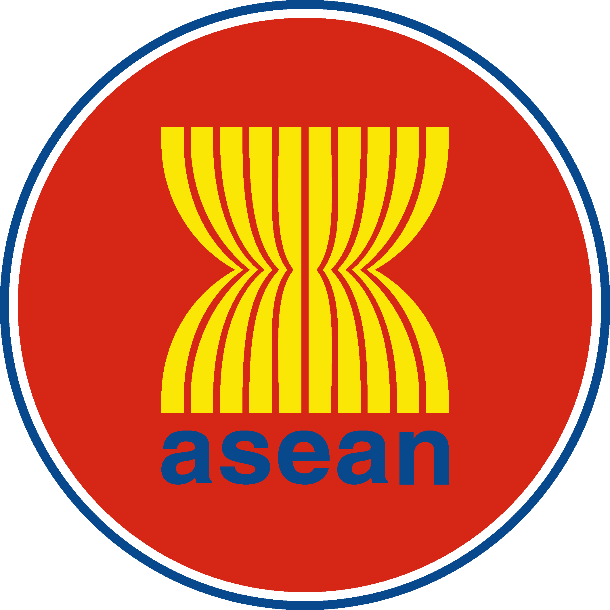 ASEAN Logo   Association of Southeast Asian Nations png